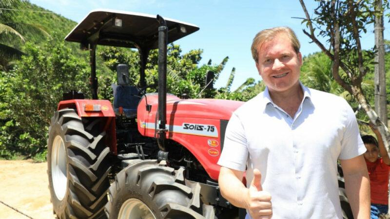 Marx Beltrão volta a pleitear apoio do governo federal para agricultura familiar automático