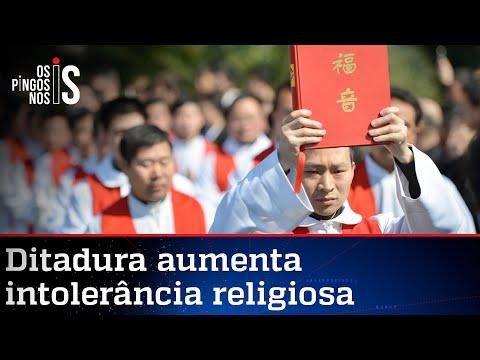 Alerta: China está perseguindo cristãos