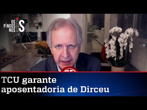 Augusto Nunes: Corrupto vai ganhar R$ 10 mil por mês