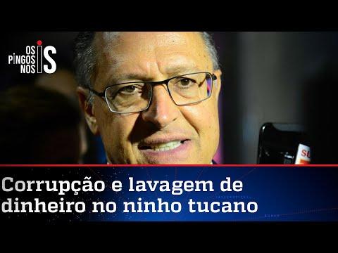 Alckmin é denunciado por repasses da Odebrecht