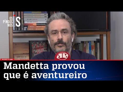 Fiuza: Pico do Mandetta ficou para outubro de 2022