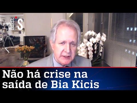 Augusto Nunes: Bia Kicis pode discordar e ainda apoiar o governo