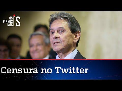 Roberto Jefferson fala sobre censura imposta pelo STF