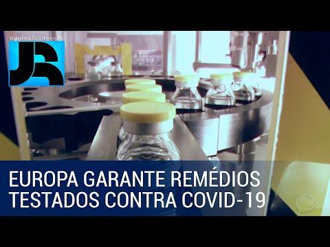 Europa faz acordo com duas farmacêuticas para garantir medicamentos testados contra a covid-19