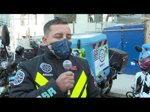 Número de assaltos a motociclistas cresce durante a pandemia em São Paulo