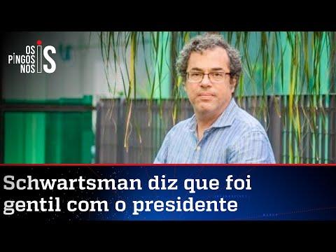 Mais uma do colunista que quer a morte de Bolsonaro