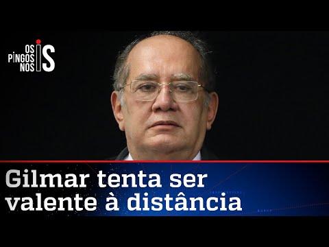 Senadores tentarão impeachment de Gilmar Mendes