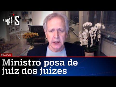 Augusto Nunes: Gilmar Mendes cometeu crime