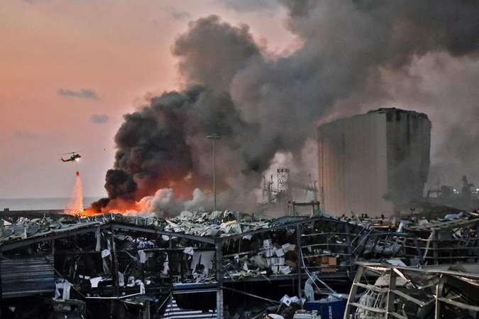 Explosões em Beirute podem ter sido causadas por explosivos confiscados