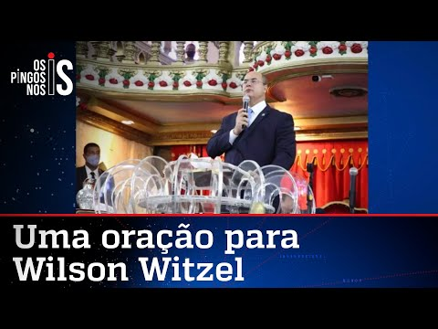 Witzel vai a culto para tentar se livrar do impeachment