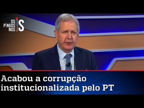 Augusto Nunes: Até chegar ao paraíso socialista, vale roubar poupança da avó e cofrinho do neto