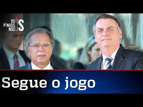 Guedes minimiza desgaste com Bolsonaro
