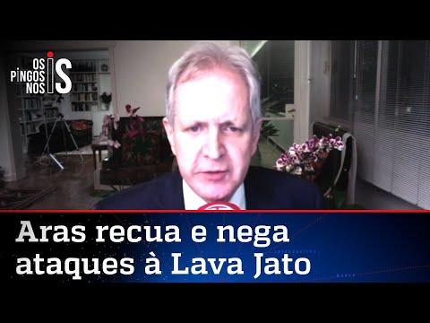 Augusto Nunes: Recuo de Aras não me convence