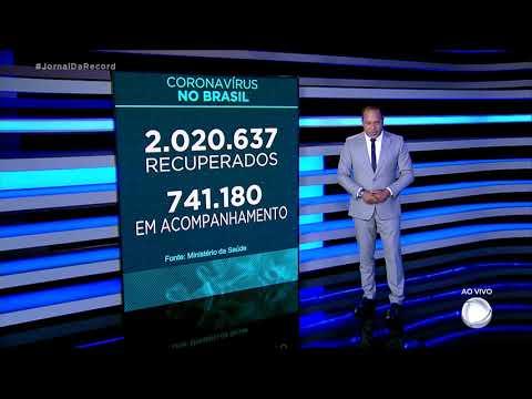 Coronavírus: Brasil registra 97.256 mortos, 1.437 nas últimas 24 horas