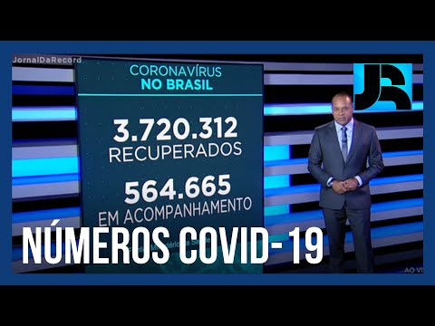 Coronavírus: Brasil registra 134.106 mortes, 987 nas últimas 24 horas