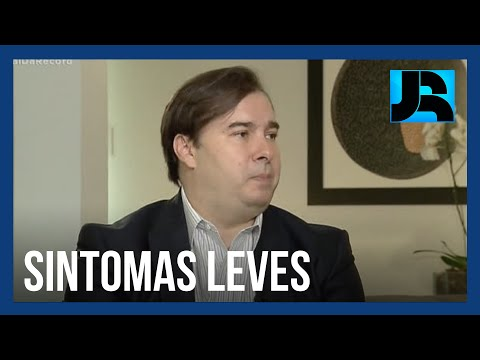Rodrigo Maia testa positivo para a covid-19