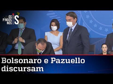 Íntegra da posse do Ministro da Saúde, Eduardo Pazuello