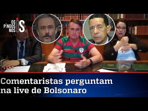 EXCLUSIVO: Entrevista durante a live de Jair Bolsonaro de 17/09/20