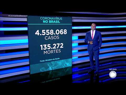 Coronavírus: Brasil registra 137.272 mortes, 377 nas últimas 24 horas