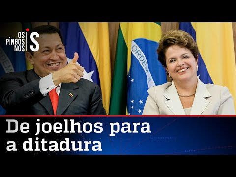 Baú dos Pingos: Dilma Rousseff elogia Hugo Chávez