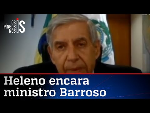 Heleno alerta: Críticas são para derrubar Bolsonaro
