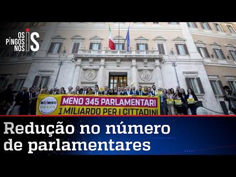 Itália reduz número de parlamentares. Brasil pode ir para o mesmo caminho?