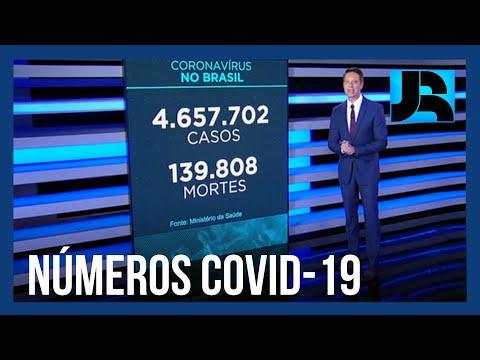 Brasil passa de 4 milhões de pacientes recuperados da covid-19