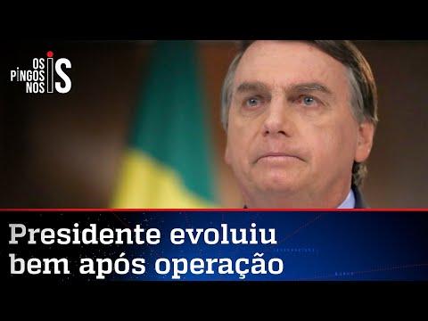 Cirurgia de Bolsonaro foi um sucesso