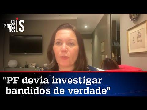Bia Kicis conta como foi depoimento à Polícia Federal
