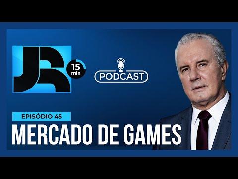 JR 15 min: Pandemia faz com que mercado de games cresça no Brasil