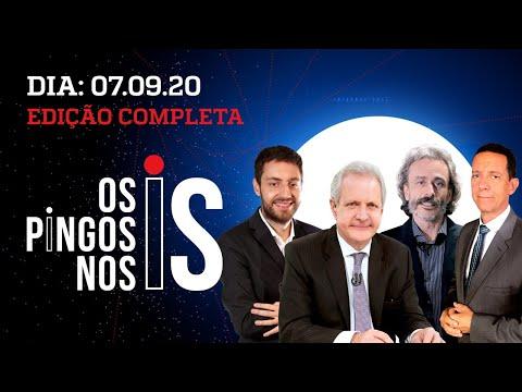 Os Pingos Nos Is – 07/09/20 – BOLSONARO NO 7 DE SETEMBRO / LAVA JATO AMEAÇADA / O MEA-CULPA DE FHC