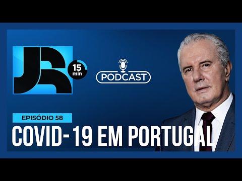JR 15 min: Portugal bate recorde de casos de Covid-19 desde o início da pandemia
