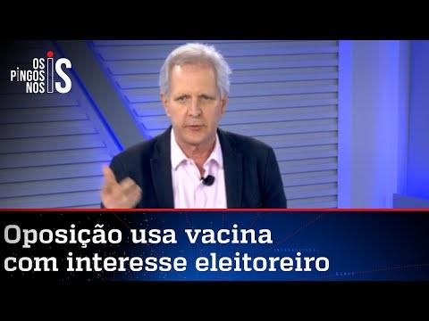 Augusto Nunes: PDT e PT querem vacinação na marra