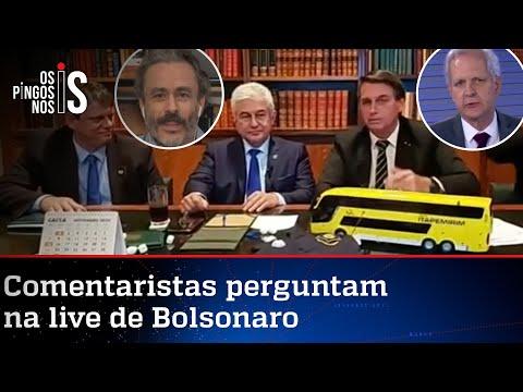 EXCLUSIVO: Entrevista durante a live de Jair Bolsonaro de 22/10/20