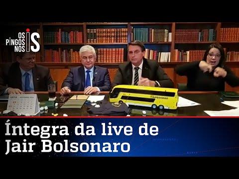 Íntegra da live de Jair Bolsonaro de 22/10/20