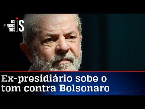 Lula defende impeachment de Bolsonaro