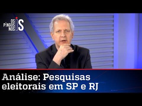 Augusto Nunes: Queda de Russomanno não está ligada ao apoio de Bolsonaro