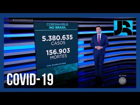Coronavírus: Brasil registra 156.903 mortes, 432 nas últimas 24 horas