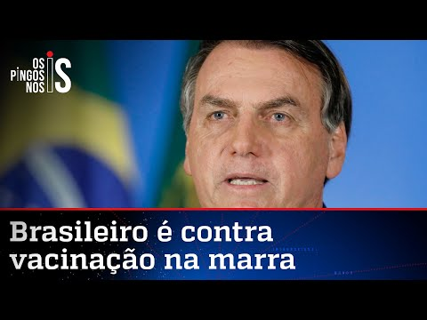 Bolsonaro defende liberdade de escolha sobre a vacina