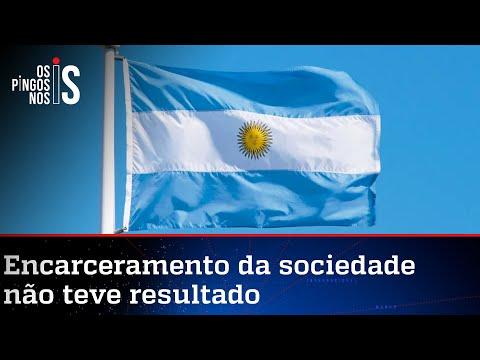 O fracasso da Argentina na luta contra o vírus chinês