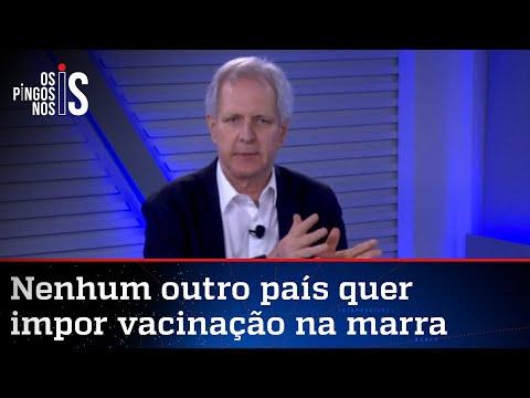 Augusto Nunes: Decisão sobre vacina deve ser do cidadão, não da Justiça