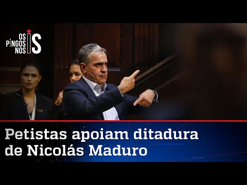 PT se irrita com deputado que recebeu enviada de Guaidó