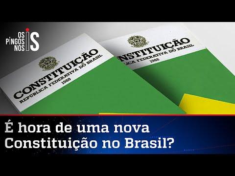 Deputado quer plebiscito para nova Constituição no Brasil