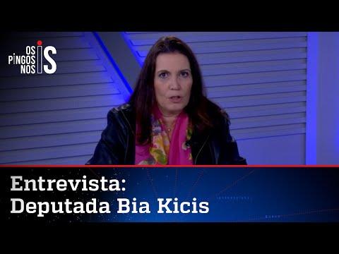Bia Kicis fala sobre luta contra vacinação na marra