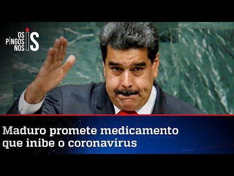Venezuela diz ter remédio que cura a Covid-19