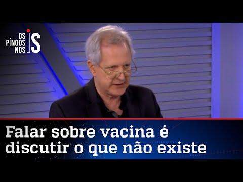 Augusto Nunes: Tudo fechado, casos subindo; tudo aberto, casos caindo
