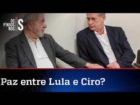 Lula e Ciro Gomes ensaiam reaproximação
