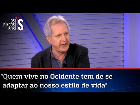 Augusto Nunes: Muçulmanos radicais acham que infiéis não devem viver