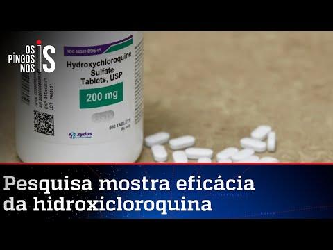 Tratamento com hidroxicloroquina reduziu internações