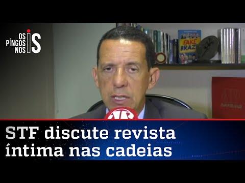 José Maria Trindade: Presidiário não deve ter contato pessoal com ninguém